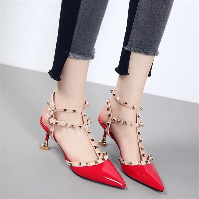 1582ff1dd Compre Designer De Vestido Sapatos Mulheres Bombas Sexy De Salto Alto Moda  Apontou Toe Casamento Boca Rasa Apontou Rosa Clássicos De Bags66, ...