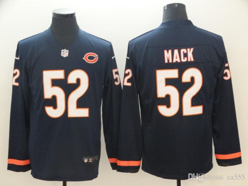 Cheap 2019 Mens Jersey Khalil Mack Mitchell Trubisky Walter Payton Custom  Chicago Bears Vapor Untouchable American Womens Football Kids Jersey 11d843d5c