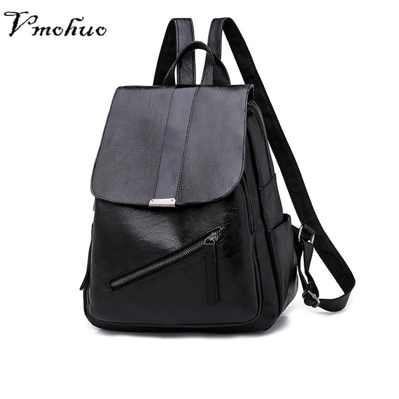 4cc5244820d0 VMOHUO Fashion Backpacks For Teenager Girls Korean Style Black Women  Backpacks Female Travel Bags Casual Women Shoulder Bags Swissgear Backpack  Swiss ...