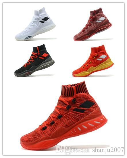 big sale be5da a65a5 Zapatillas De Baloncesto Para Hombre 2019 Barato Loco Explosivo Rojo Blanco  Negro Andrew Wiggins Loco Explosivo Juvenil Pared 3 Botas Zapatillas  Deportivas ...