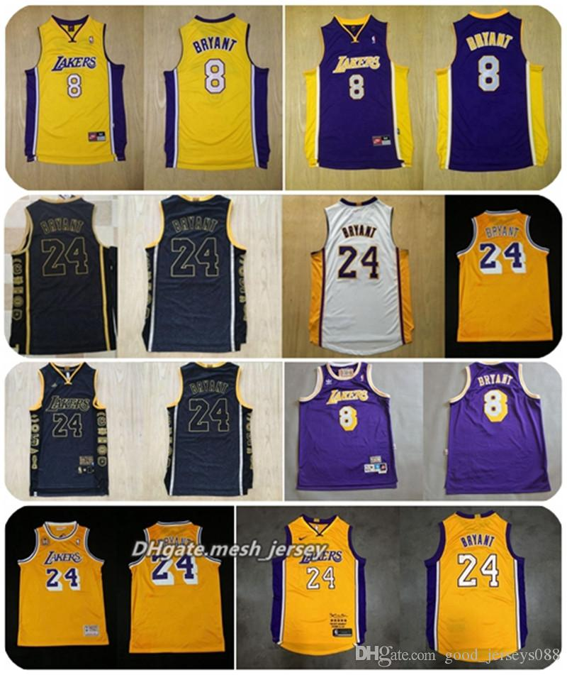 detailed look 28d2c ee601 Men LeBron 8 24 Kobe Bryant Basketball Retired Limited Edition Lakers  Jerseys James Dense AU Mesh Fabric Jerseys Dense Logo S-XXL Shorts