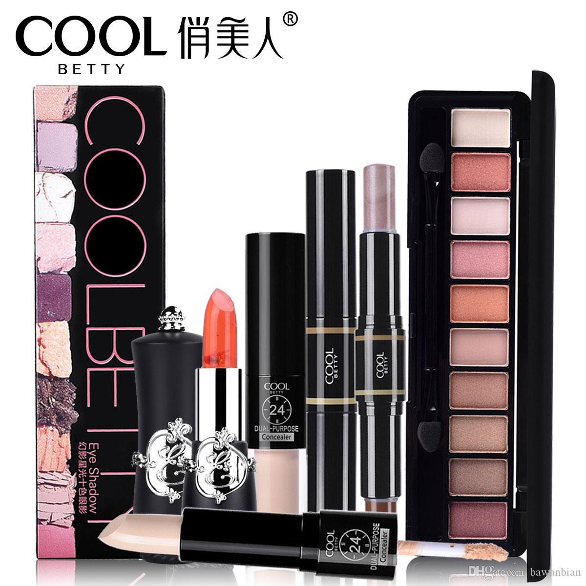 Makeup Set Eye Shadow Lipstick Concealer Highlighter Cosmetics Beauty Tool For Girl Gift For Free Shipping