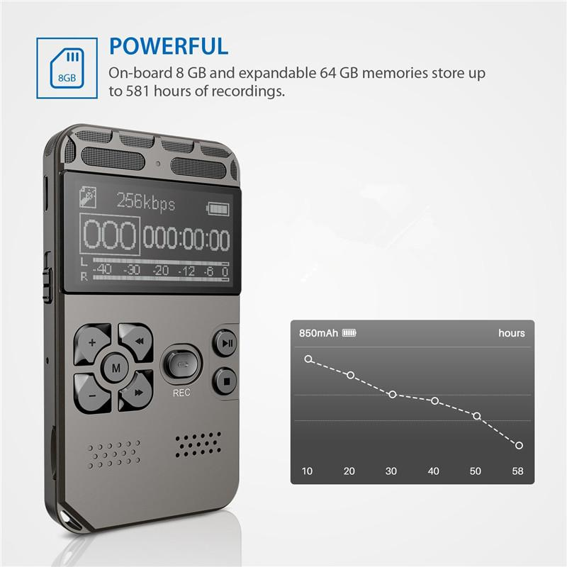 Die Kleinste Armband Voice Recorder Mini Usb Audio Recorder 70 Stunden 4 Gb Professionelles Design Tragbares Audio & Video