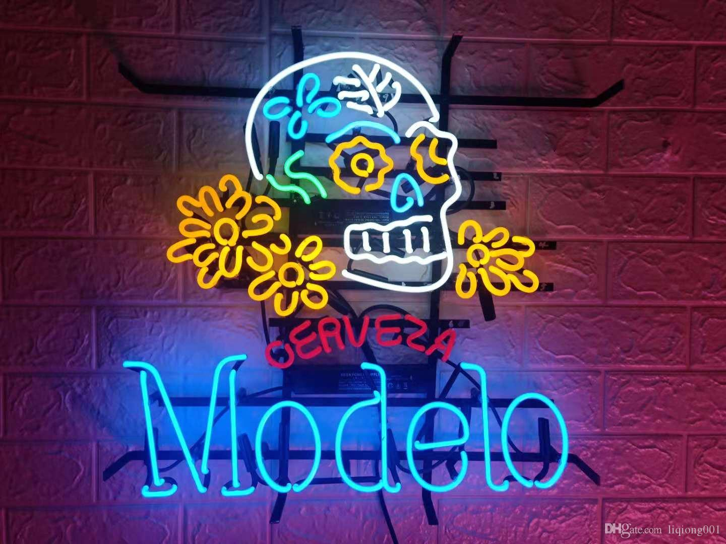 New Star Neon Sign Factory 19X15 Inches Real Glass Neon Sign Light for Beer  Bar Pub Garage Room Modelo