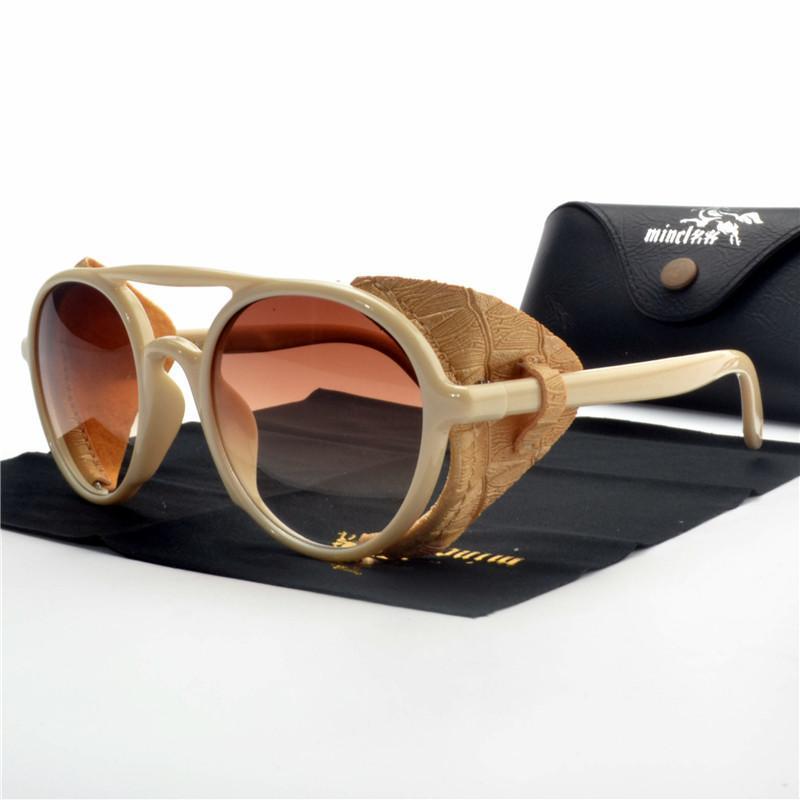 8475264b4314 2019 New Round Vintage Sunglasses Women Men Driving Metal Frame Punk Lens  Hip Hop Sun Glasses Female Retro Eyewear Shades UV NX Spitfire Sunglasses  Native ...