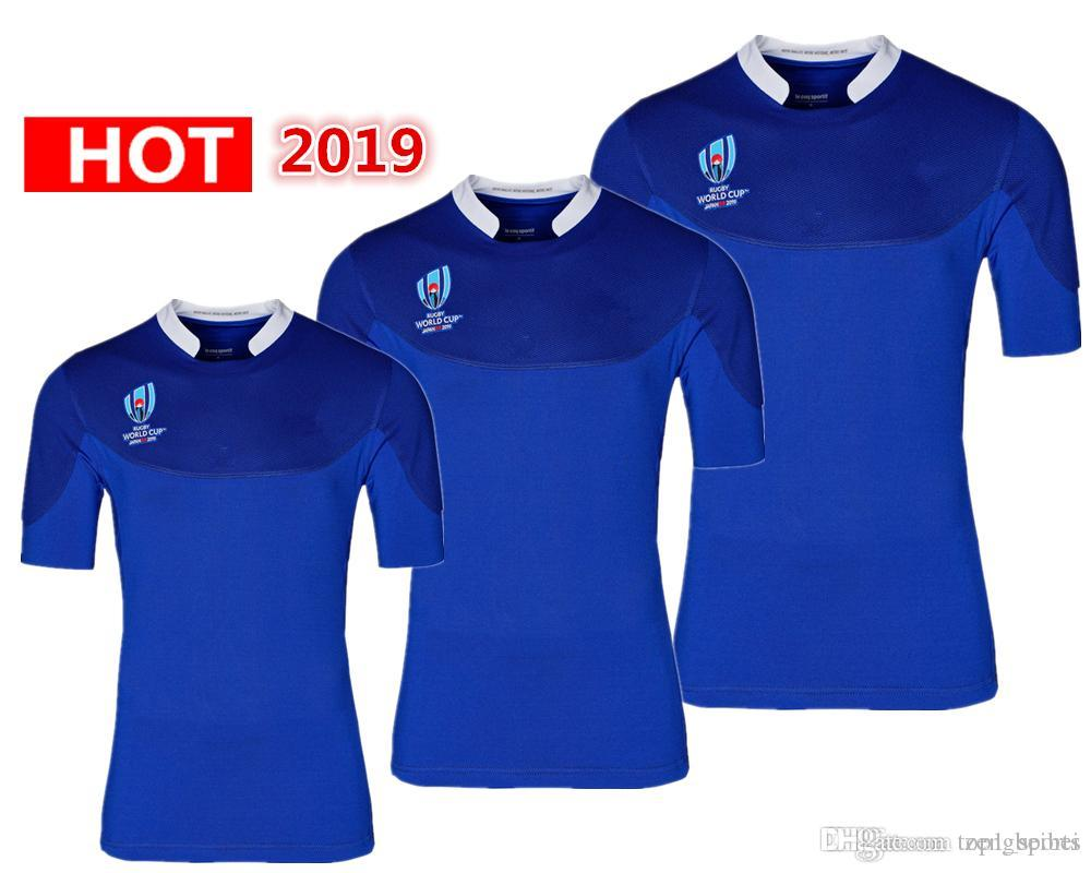 new style e4689 1485b International League 2019 Japan World Cup France home away Jersey shirt  France national team rugby jerseys s-3xl
