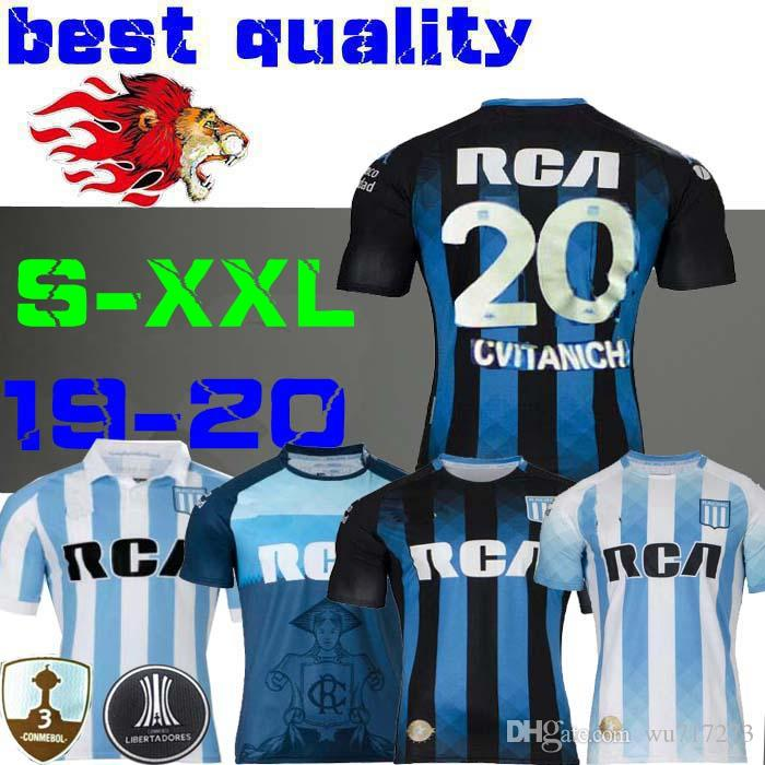 2019 Racing Club Camisetas De Fútbol 19 20 Racing De Avellaneda LISANDRO  Hogar Lejos Bou Centurión R.CENTURION CHURRY Fútbol Copa Libertadores Por  Wu717273 981ab51c935ce