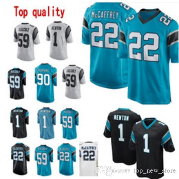 9d1709d82 2019 1 Cam Newton Carolina 22 Christian McCaffrey Panthers Jersey Mens 90  Julius Peppers 88 Greg Olsen Stitched Football Jerseys From Top new store