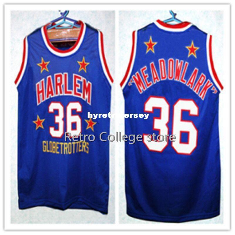 2019 36 Meadowlark Lemon 21 Kevin Harlem Globetrotters Basketball