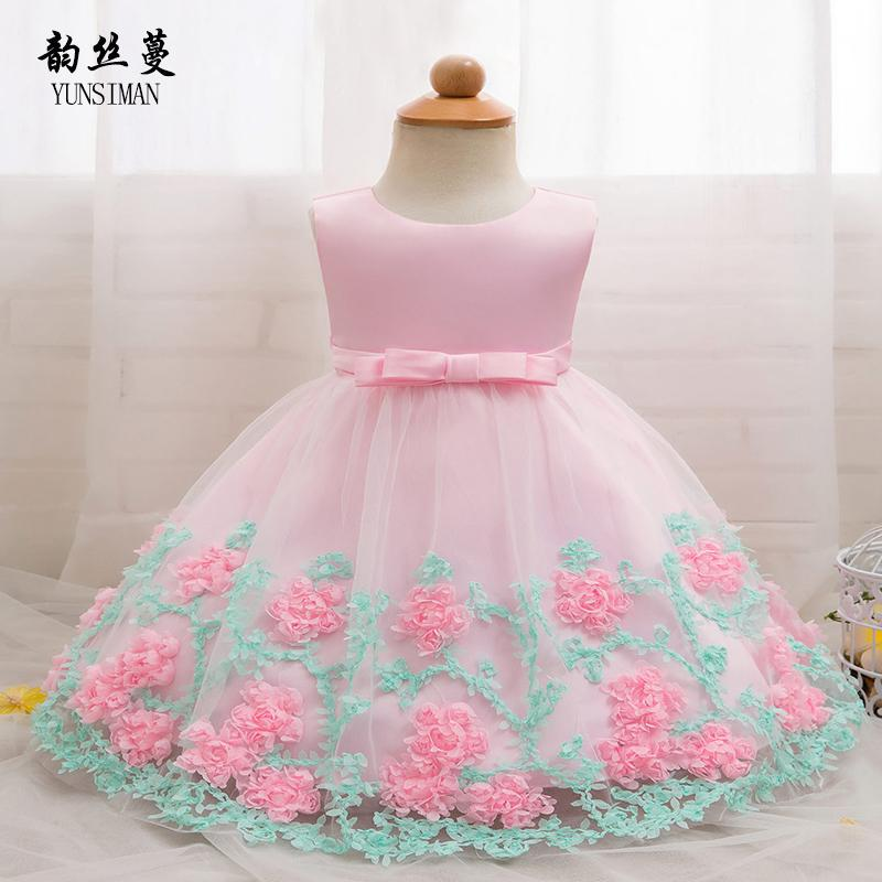 c22635c11 2019 Baby Dress For Newborn 3 6 9 12 18 24 Months Baby Girl Clothes ...