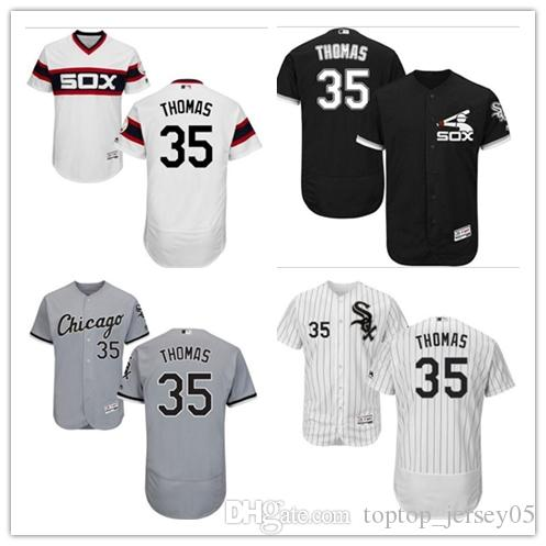 finest selection 7c90b e102a 2018 Chicago White Sox Jerseys #35 Frank Thomas Jerseys  men#WOMEN#YOUTH#Men's Baseball Jersey Majestic Stitched Professional  sportswear