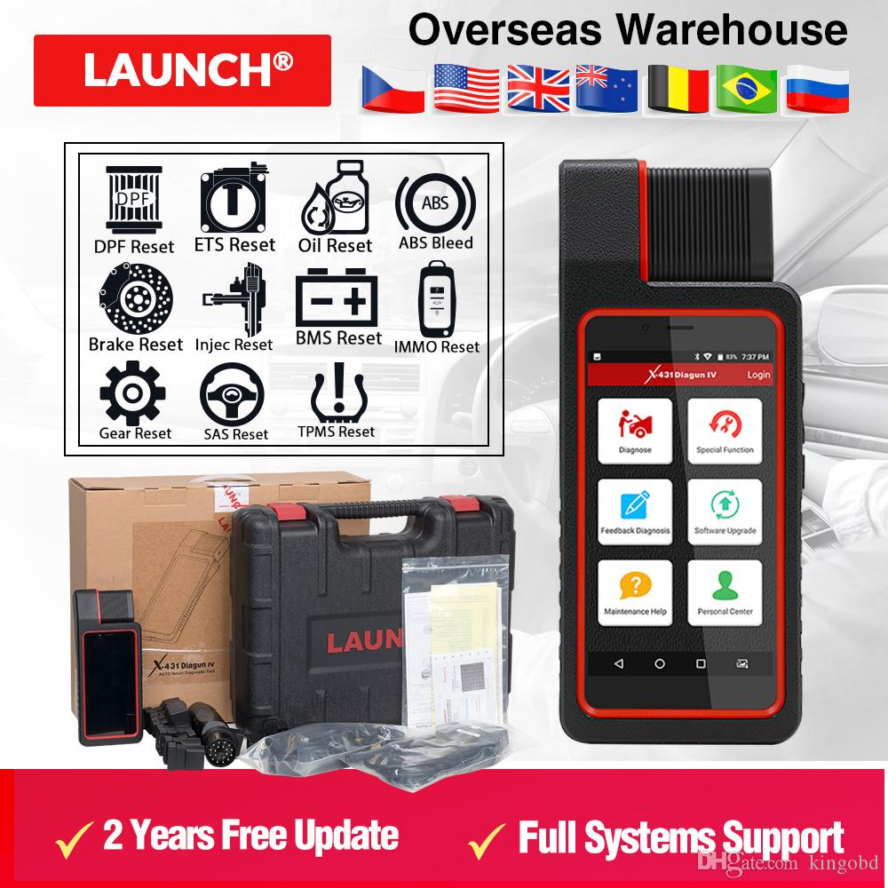 Launch X431 Diagun IV with Wifi Bluetooth Diagnostic Tool with 2 year Free Update X-431 Diagun IV better than diagun iii DHL free