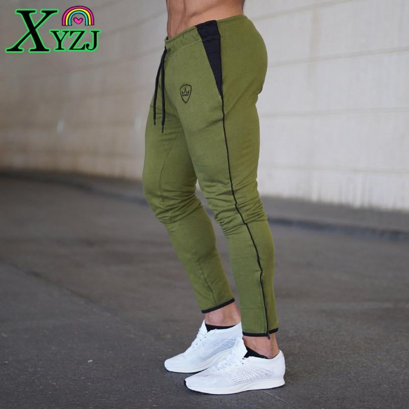 2d2a47d01a Sweatpants Man Outdoor Sports Run Workout Training Trousers Male ...