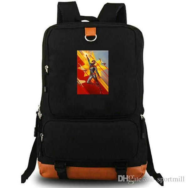 Sac à dos Captain Marvel Sac à dos super-héros Sac à dos photo Carol Danvers Sac à dos en toile pour ordinateur portable Sac à dos en plein air Sac de sport