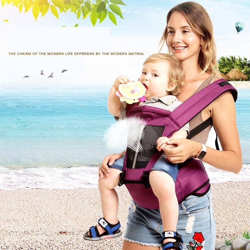Newborn Baby Carrier Kangaroo Pose Toddler Sling Wrap Portable Infant Hip Seat Baby Care Waist Stool Adjustable Hip Seat