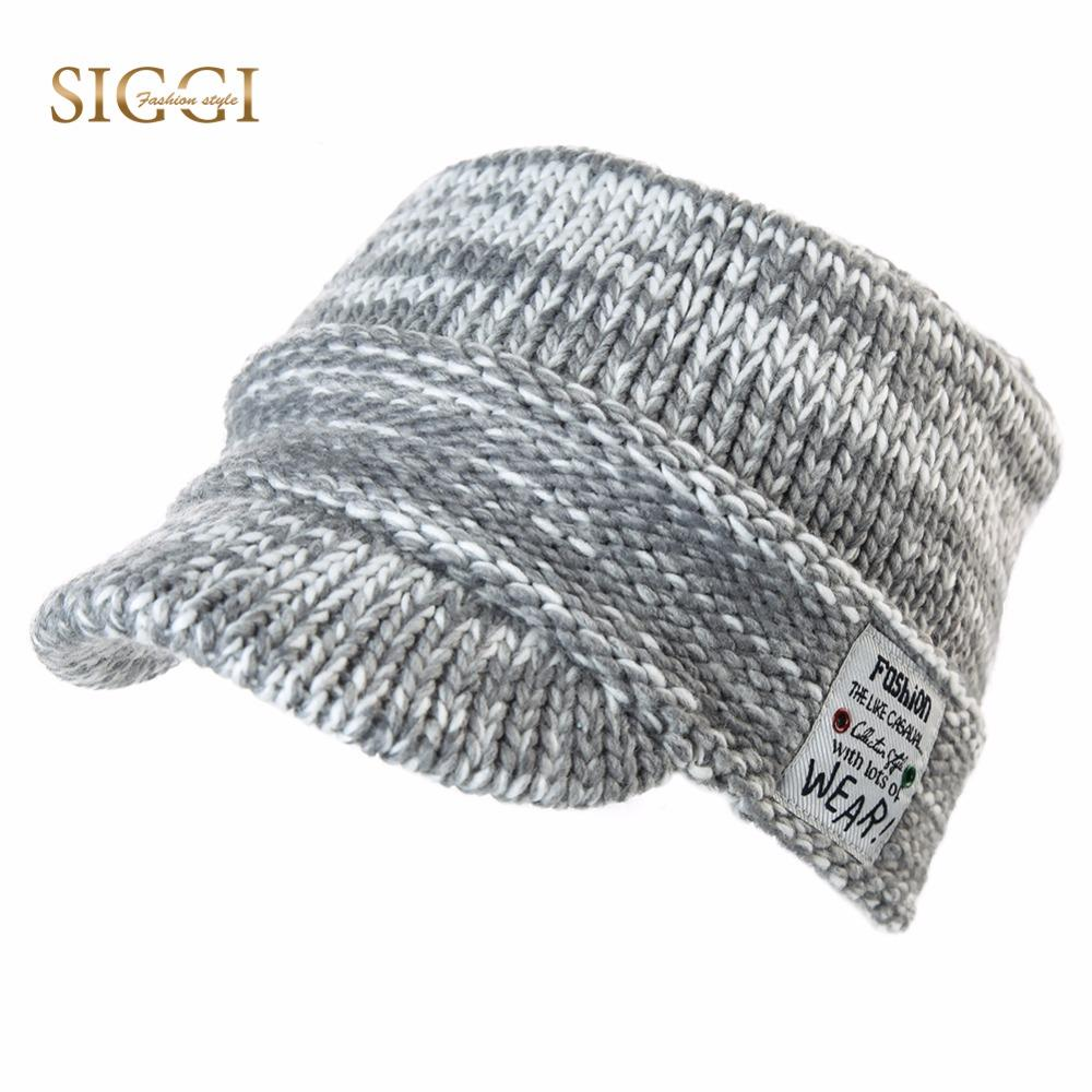07575799 FANCET Winter Warm Beanies Hats For Women Acrylic Casual Streetwear Fashion  Brim Skullies Earflap Womens Knitted Hats 89211 Hats And Caps Beany From ...