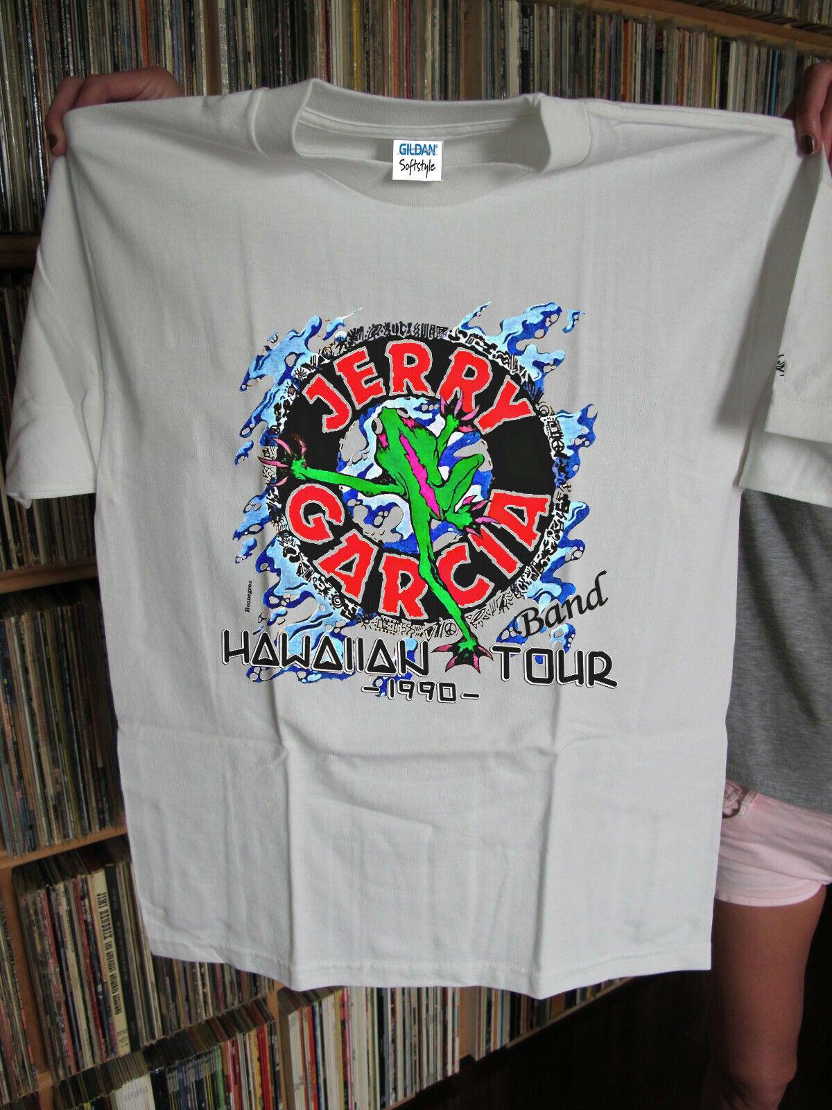 grateful dead shirt 1990 GDM Jerry Garcia Band Shirt 1990 vintage S-3XL Men  Women Unisex Fashion tshirt Free Shipping black