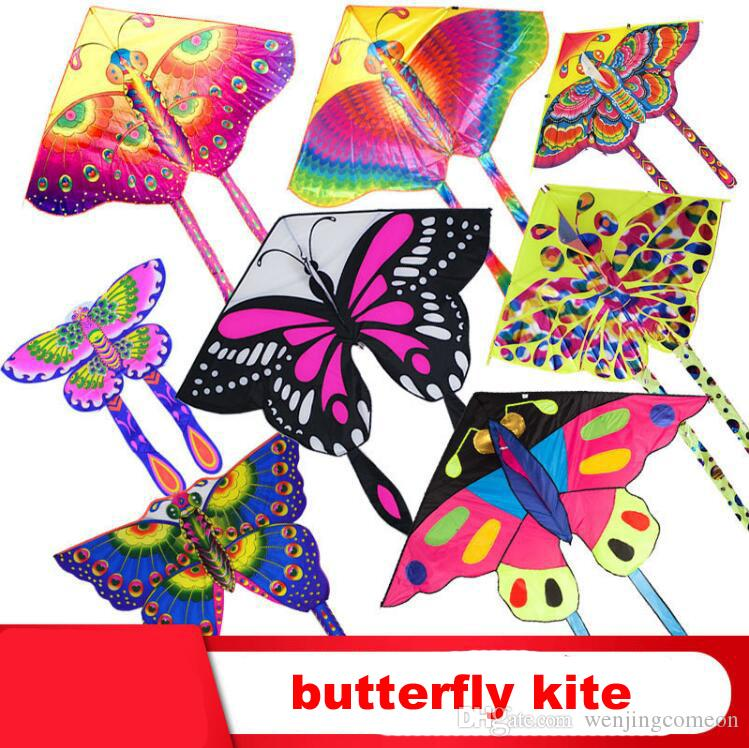 140ea50ec 2019 Butterfly Kite Bird Kites Outdoor Kites Flying Toys Kite Gift For Children  Kids & Adults Beach & Square Easy To Fly From Wenjingcomeon, $3.02 | DHgate.
