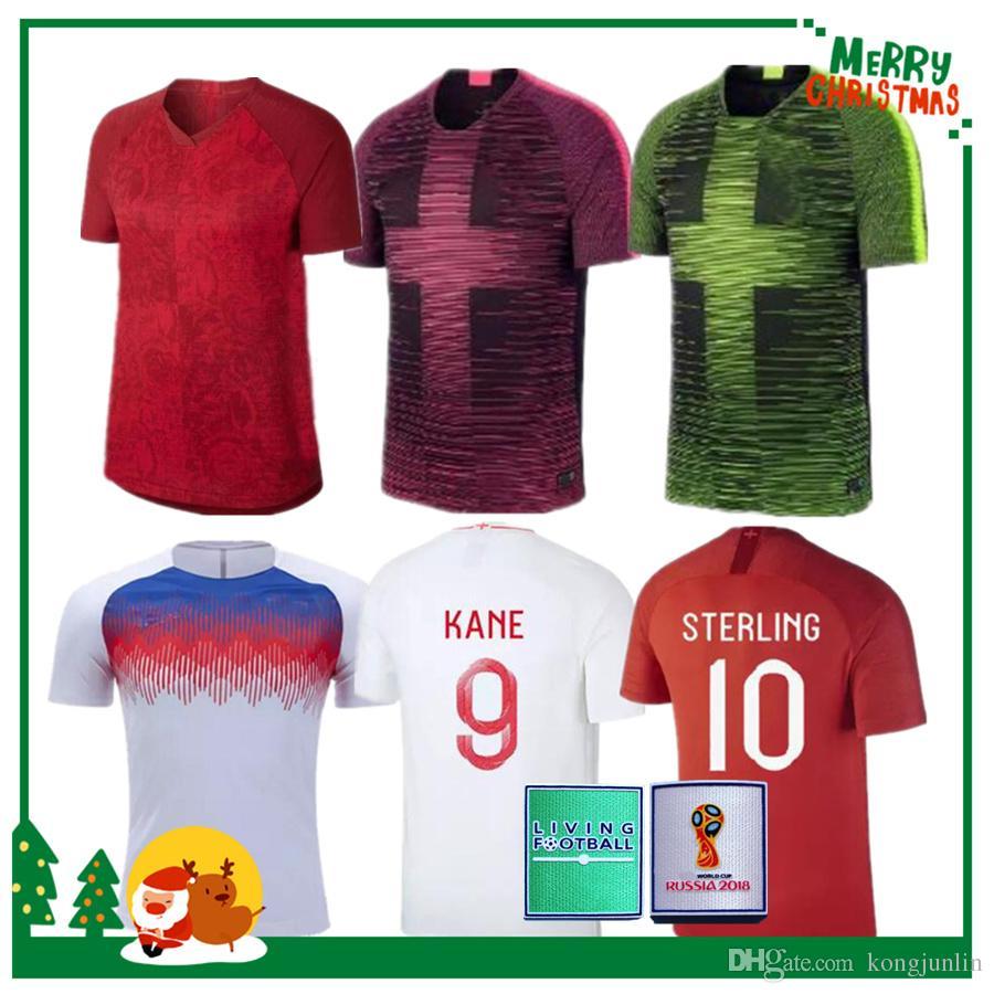 new concept 945cd 721fd 2018 DELE ALLI soccer jerseys KANE RASHFORD VARDY jersey 2019 ENGLAND home  away LINGARD STERLING STURRIDGE football shirt training wear