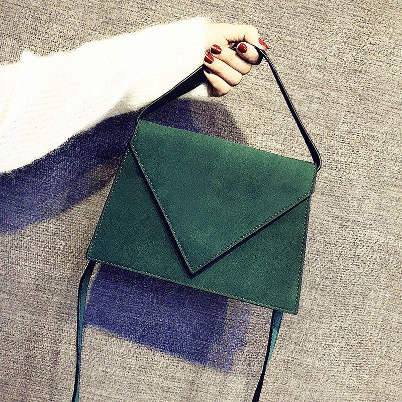 683e3f185481 Ladies Shoulder Bag Candy Color Small Women Clutches Messenger Bags ...