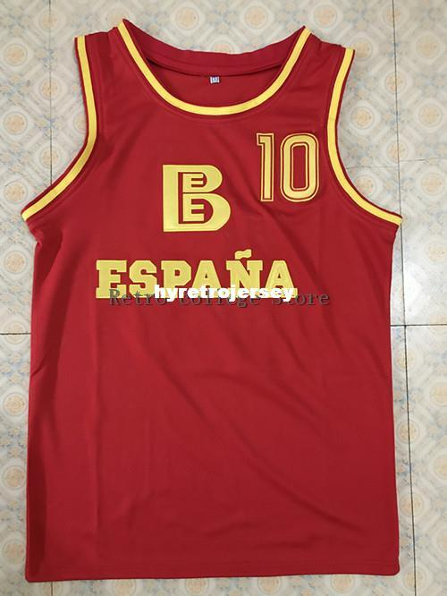 6368ed64dad 2019 #10 Fermando Martin Spanish National Team Basketball Jersey All Size  Embroidery Stitched Customize Any Name And Name XS 6XL Vest Jerseys From ...