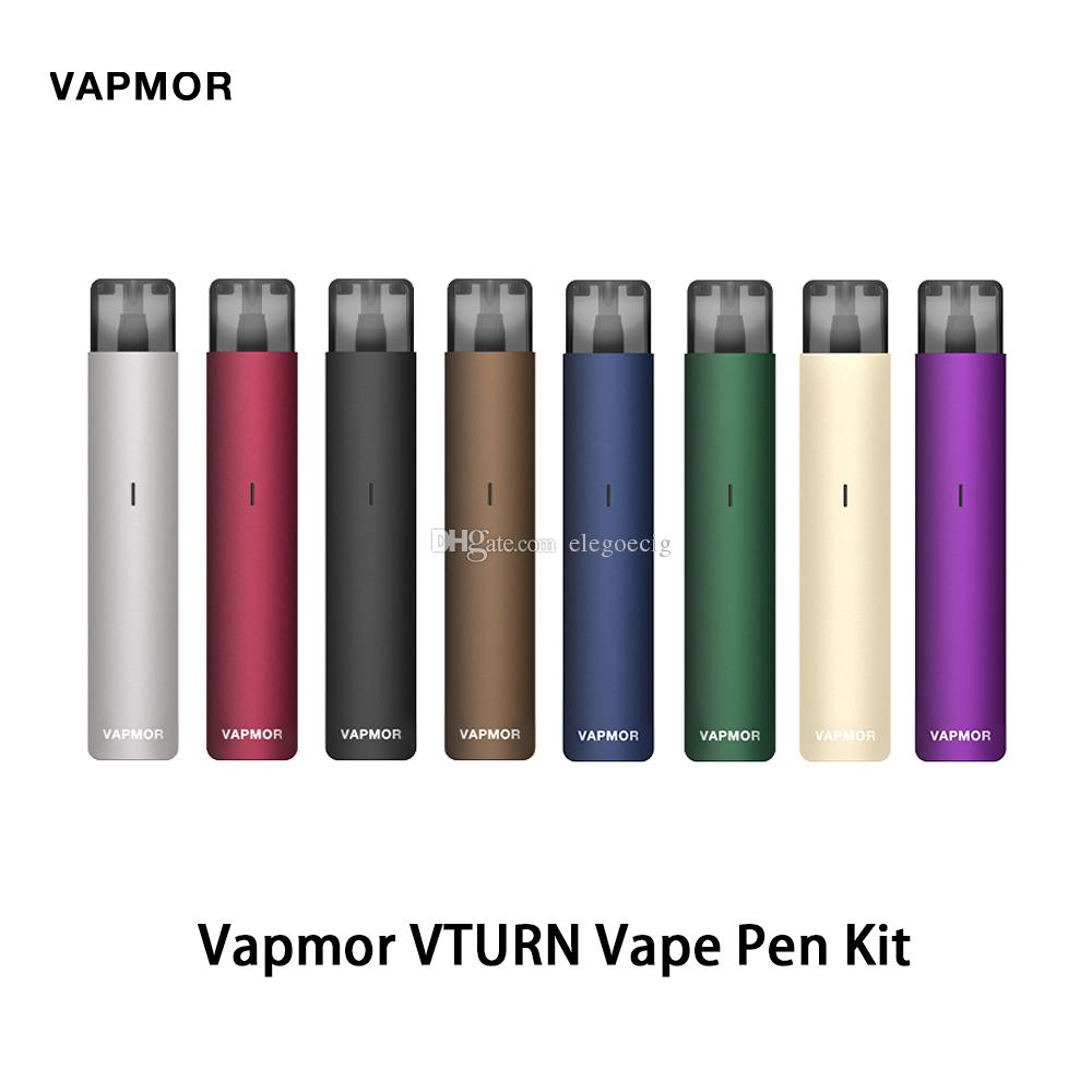 Vapmor VTURN Vape Pen Kit With 330mAh Battery Power And 2ml Liquid Capacity Magnetic Connection Aluminum Alloy Body 100% Original