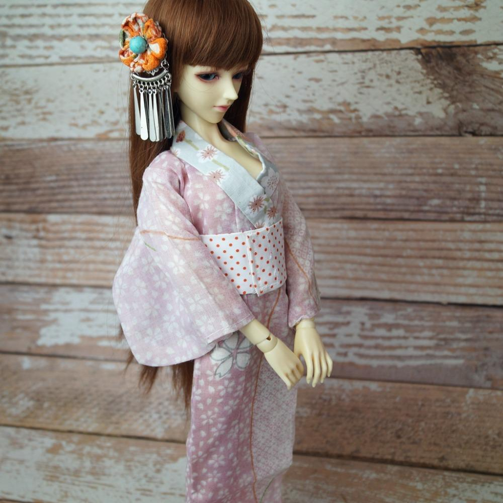 Compre OOAK Japón Estilo Sakura Kimono Trajes De Vestir Ropa Para 1 4 17 44  Cm Alto Femenino BJD Muñeca MSD DK DZ AOD DD Muñeca Envío Gratis A  26.27  Del ... de650e623cf1