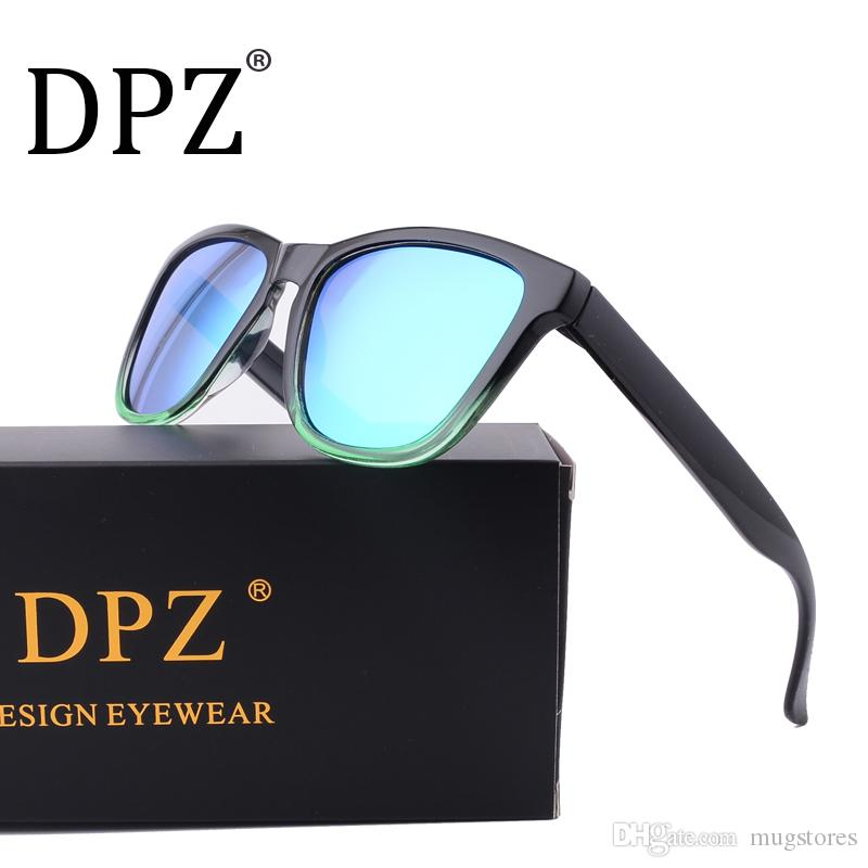 775c1e0bfce DPZ New Fashion Polarized Women Sunglasses Famous Lady Brand Designer  Gradient Colors Coating Mirror Sun Glasses UV400 With Box Cheap Eyeglasses  Online ...