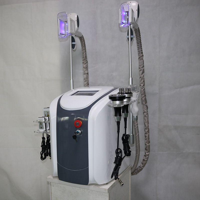 الدهون تجميد cryolipolysis العلاج بالتبريد lipolaser التجويف RF آلة الدهون تجميد التخسيس آلة الشكل البرد الفراغ وفقدان الوزن