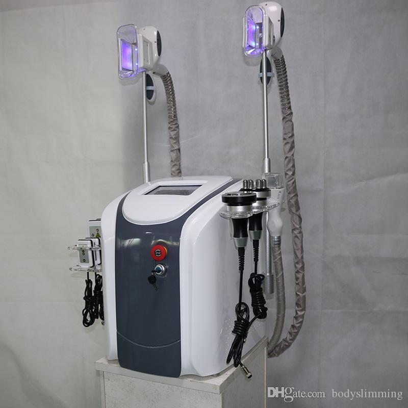 gel gras cryolipolysis cryothérapie LipoLaser Machine à cavitation minceur gel graisse machine RF Forme perte de poids cryo sous vide
