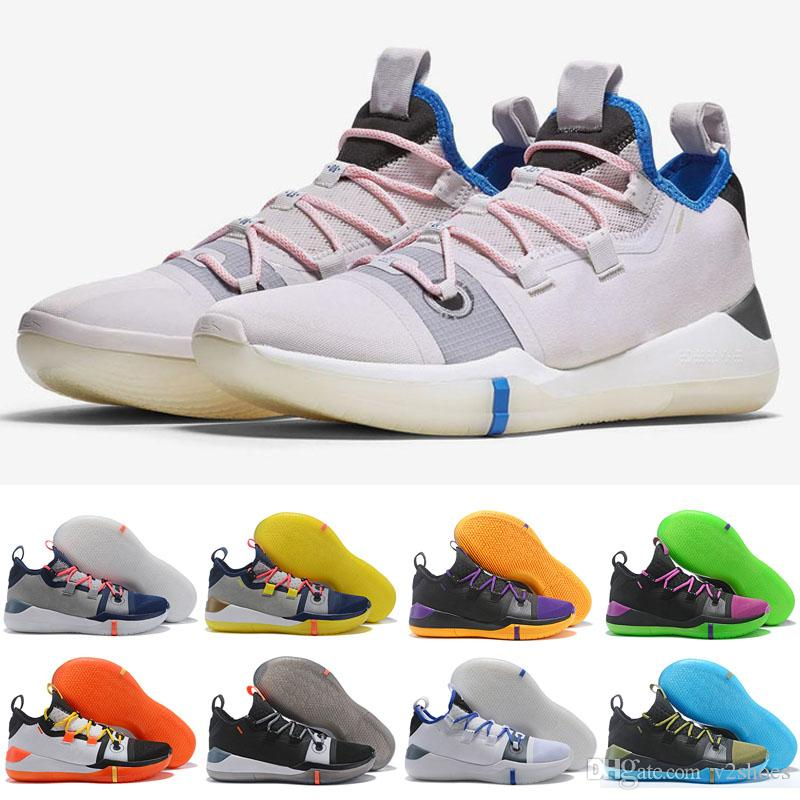 de0ecf238275 Hot Kobe AD Exodus Shoes For Sale Top Quality Kobe Bryant A.D Black Multi  SIZE 40 46 Online Shoe Shopping Youth Basketball Shoes From V2shoes