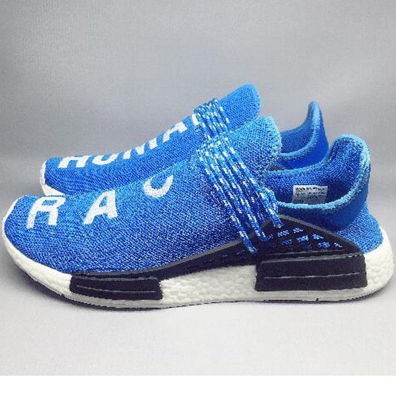 sneakers for cheap d2cd1 f5d01 Fila Scarpe Designer Human Race 1 NMD Runner Hu Trail Pharrell Williams Scarpe  Da Corsa Nero Giallo Green Blue Holi Scarpe Da Ginnastica Uomo Donna Sports  ...