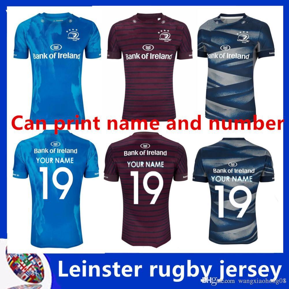 online store 409b7 f6c93 2019/2020 LEINSTER ALTERNATE JERSEY 2018 2019 LEINSTER rugby Jerseys  Ireland Rugby AWAY jersey 18 19 TRAINING shirt size S-3XL (can print)