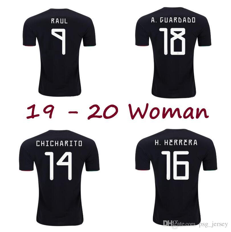 5a9fc57041e 2019 New 19 20 World Cup Mexico Woman Soccer Jersey Female LOZANO  CHICHARITO Camiseta De Futbol DOS SANTOS Football Jersey Shirts From  Psg_jersey, ...