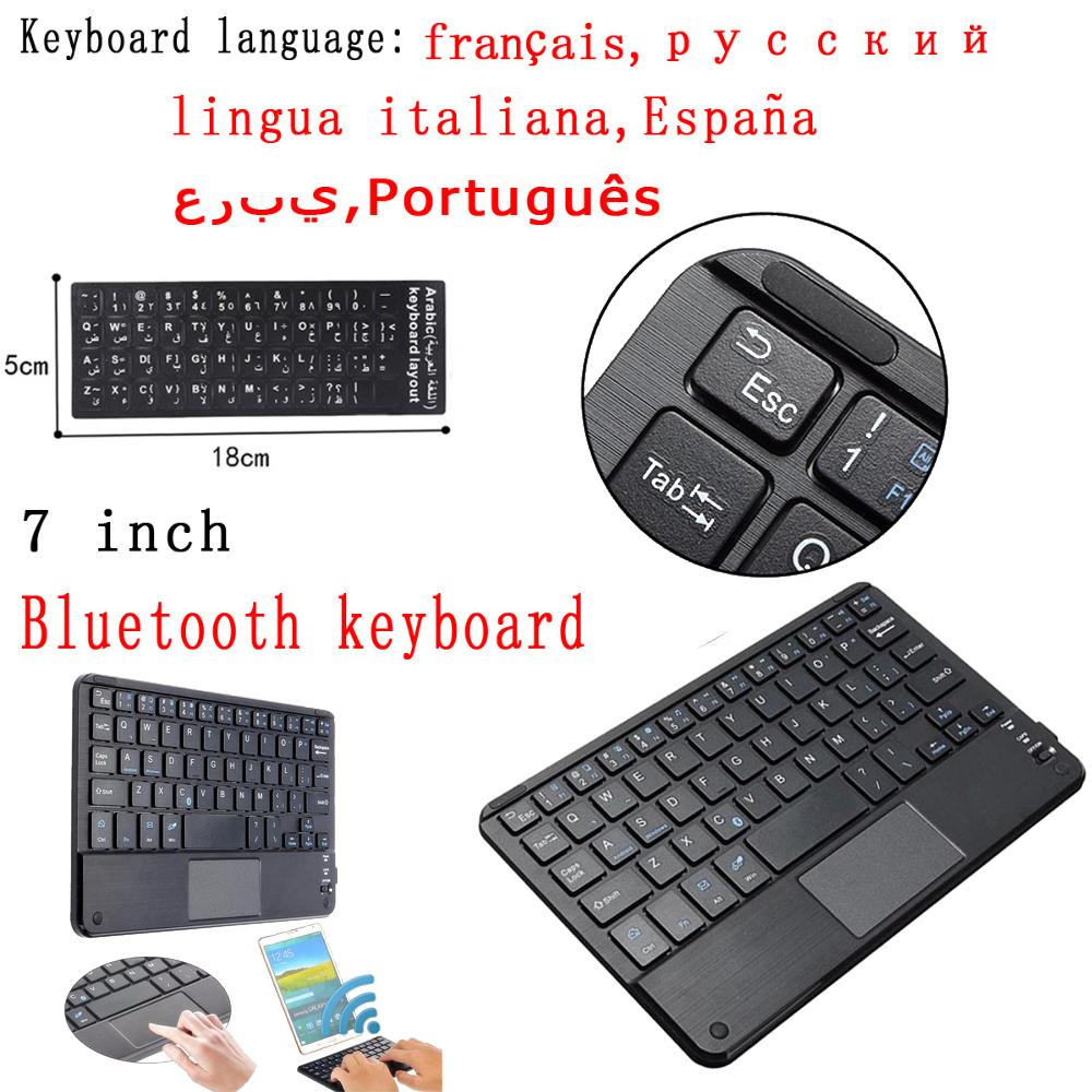 Tablet ultra-thin Bluetooth keyboard tablet laptop smartphone iPad support  IOS Android system phone universal