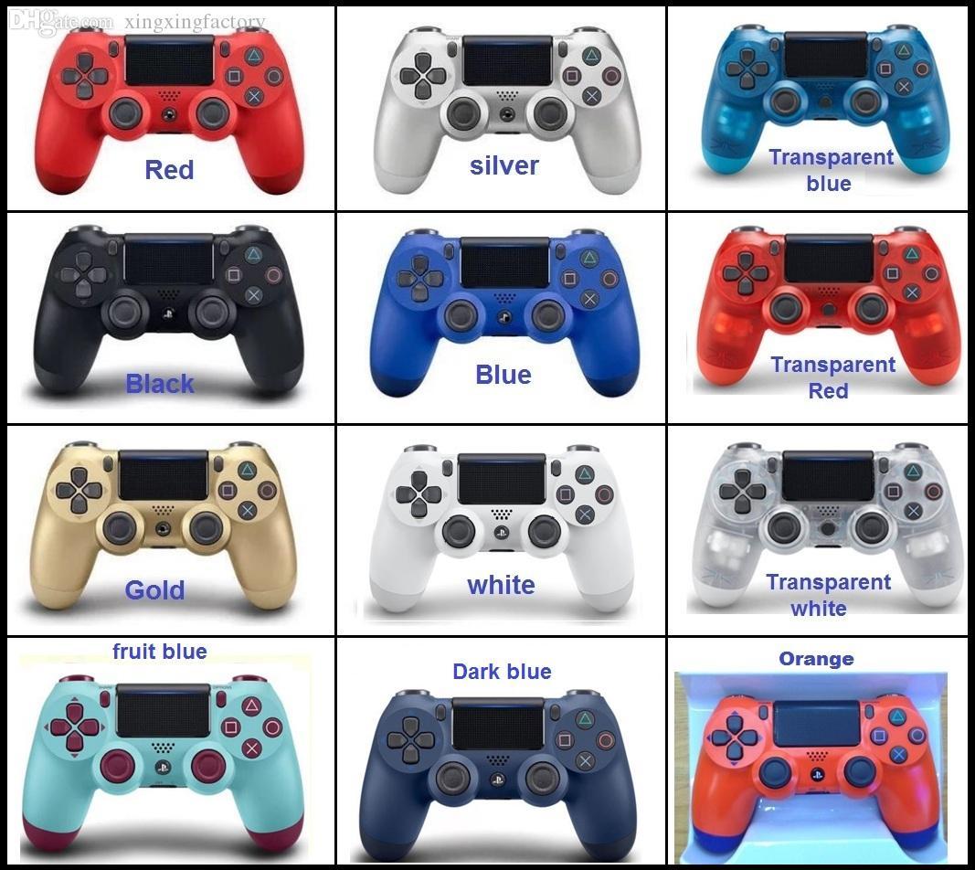 NEUE PS4 Wireless Bluetooth Game Controller mit Licht SLIM für PS4 Controller Doppel-Joystick-Joystick Gamepads für PlayStati