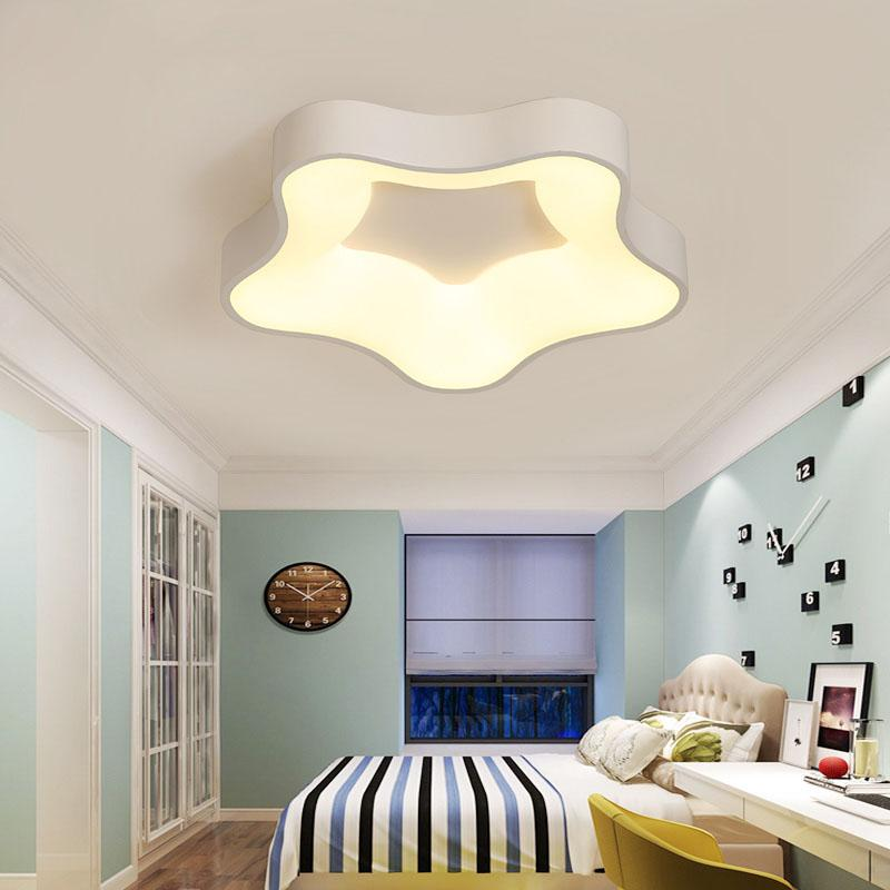 Led Starfish Childrens Room Lighting Child Ceiling Lamp Baby Ceiling Lamps And Boys And Girls Bedroom Lamps Latest Fashion Ceiling Lights