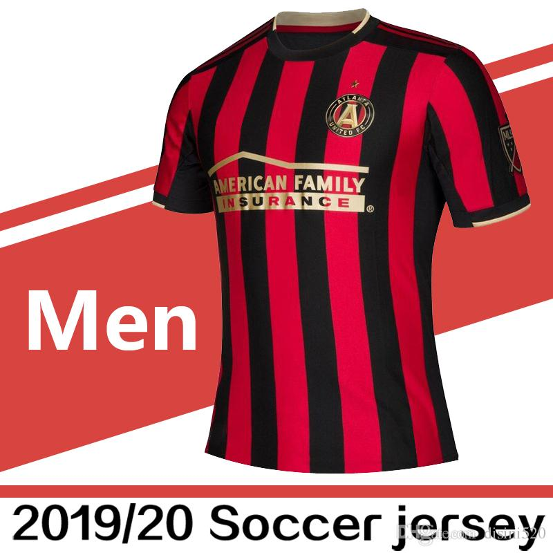 26507755614 2019 2019 2020 MLS Atlanta United FC Home Soccer Jerseys Football Shirt 19 20  VILLALBA BARCO G.MARTINEZ MARTINEZ Soccer Jerseys Football Shirts From ...