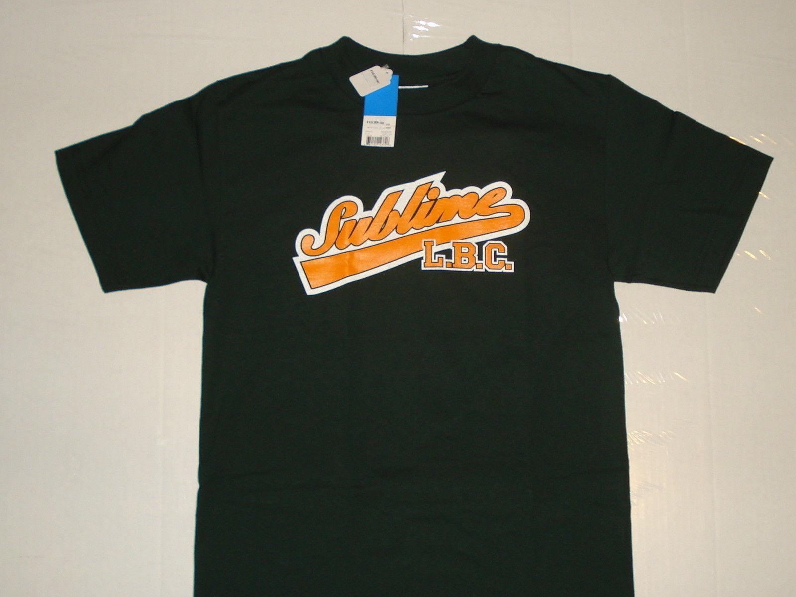 188636a9656 SUBLIME LBC GREEN RETRO NEW T SHIRT S M L XL 2XL PUNK ROCK SKA POP 40 Oz  BRADLEY Funny Unisex Casual Tshirt Top Denim Shirts Design T Shirts From ...