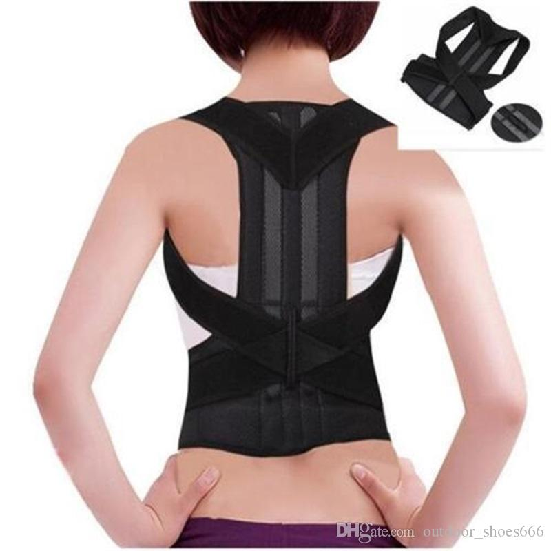 c61cfc998d7 2019 Unisex Back Waist Support Belt Correcting For Lumbar Back Bone Care Medical  Brace Posture Corrector Male Corset For Women  146688 From Outdoor shoes666  ...