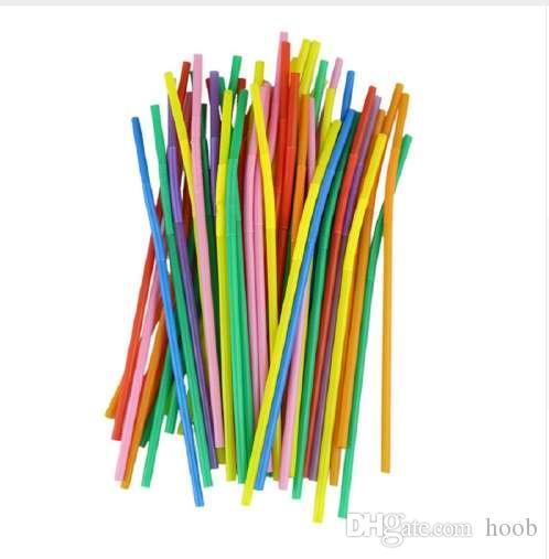 hot sell drink straw multicolor long bendy drinking straws home bar rh dhgate com
