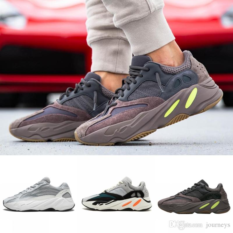 55400a9df 700 V2 Static V1 Mauve Wave Runner Kanye West Designer Mens Shoes 700s  Sports Running Sneakers Shoes US 5-11.5 With Box 2019 Basketball Shoes  Running Shoes ...
