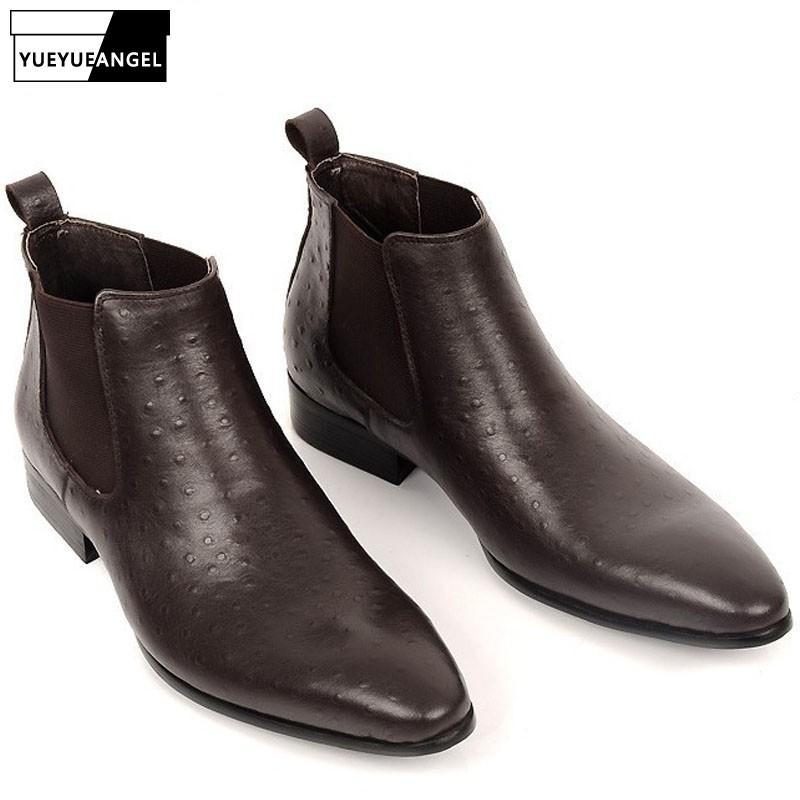 Hombre Real Zapatos Vaca Para Compre Cuero De Lujo Vestir 9DHIYWE2