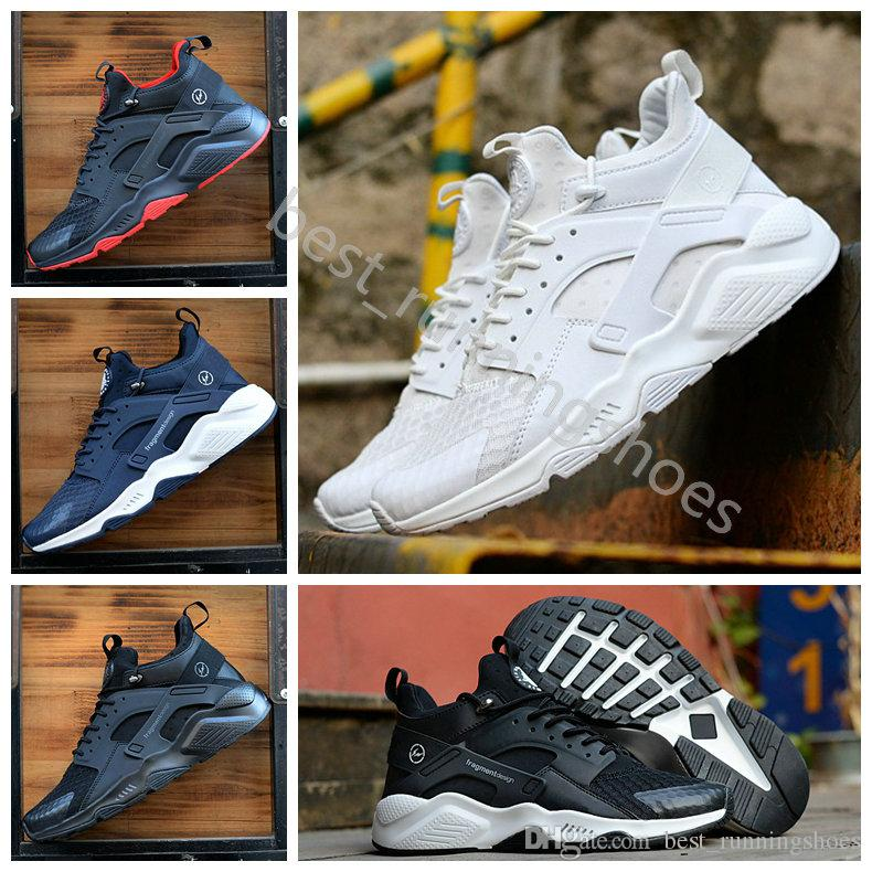 more photos ffeeb 44393 2018 Huarache 7 Hiroshi Fujiwara X Acronym City MID Leather Huaraches Mens  Trainers air Running Shoes Men Huraches Zapatos Hurache Sneakers