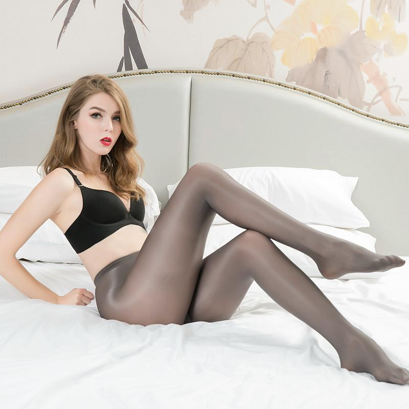 2021 70D Women Plus Size Tights Sexy Oil Shiny Glitter