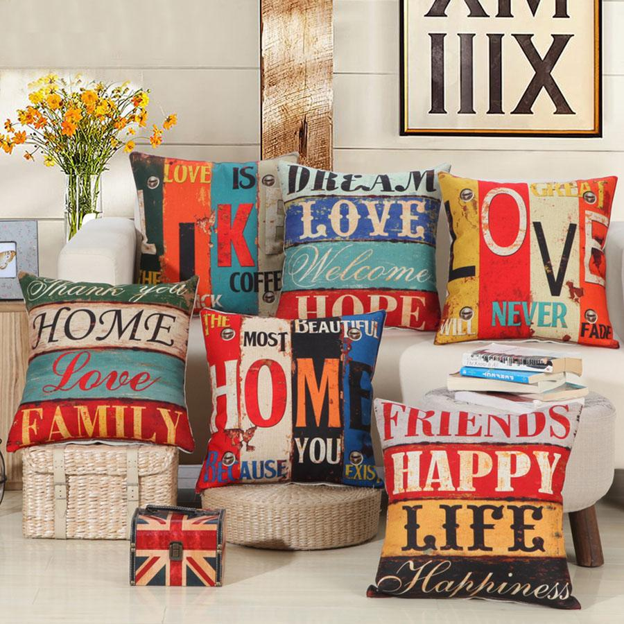 home cushion covers pillow case 45x45cm single sided printing rh dhgate com