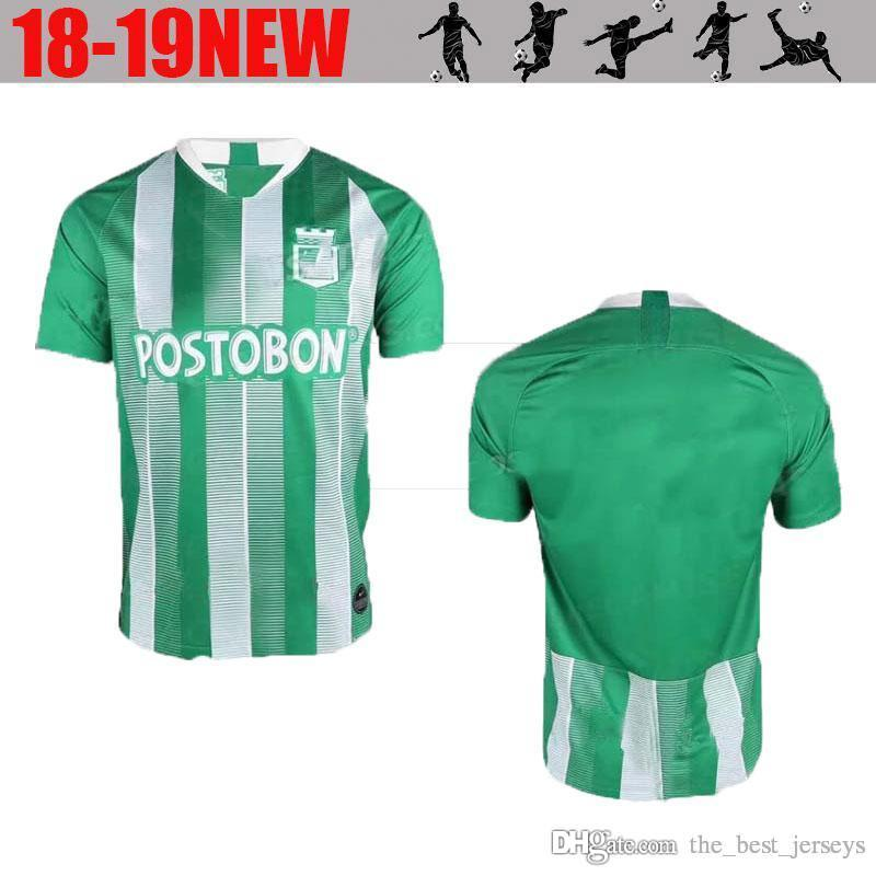 2019 2018 2019 Atletico Nacional Medellin Soccer Jersey MORENO TORRES  RENTERIA LUCUMI Customize 18 19 Home Green Football Shirt From  The best jerseys 1dd560ac8