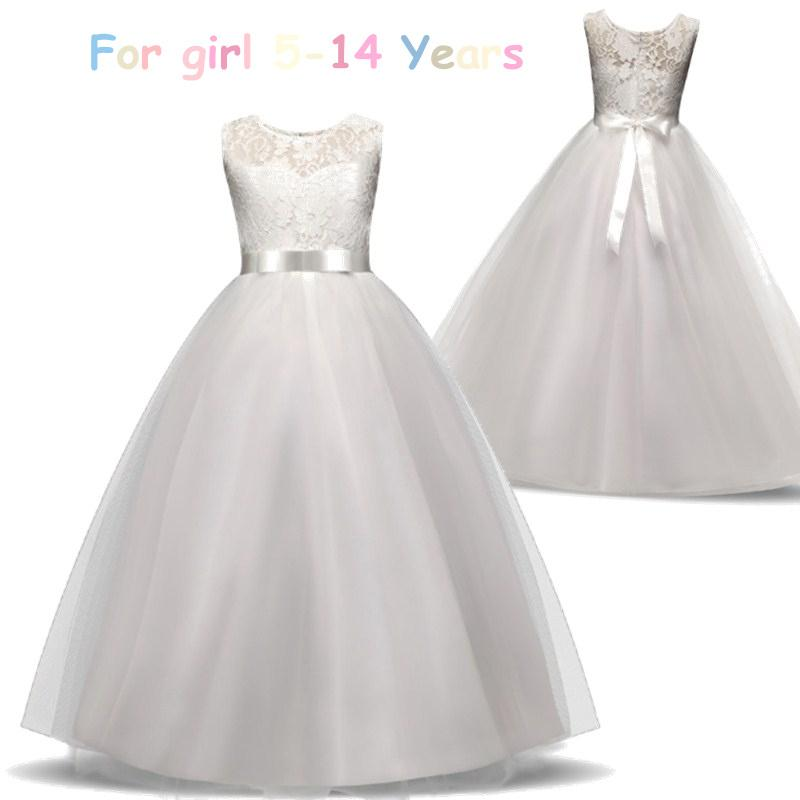 7c2b5a94a 2019 Flower Girl Dresses For Girls Elegant Wedding Party Tulle First ...