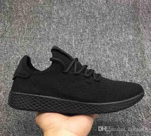 d002805a273a0 New Arrival Originals Pharrell Williams Tennis Hu Shoes Stan Smith 3D  Primeknit Sports Fashion Women Men PW Human Race Casual Shoes Pink Shoes  Vegan Shoes ...