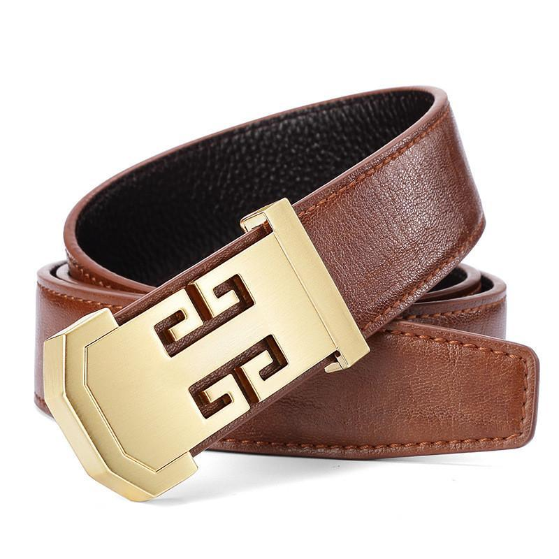 1984d3db2b0 2019 Brand Designer Accessories Mens Letter Buckle Belt Casual Belts Buckles  Men Genuine Leather Fashion Strap Belt For Men Wedding Belts From Ky1219